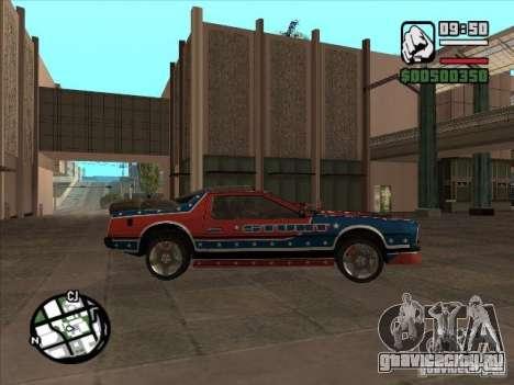 Авто из Flatout 2 для GTA San Andreas вид справа