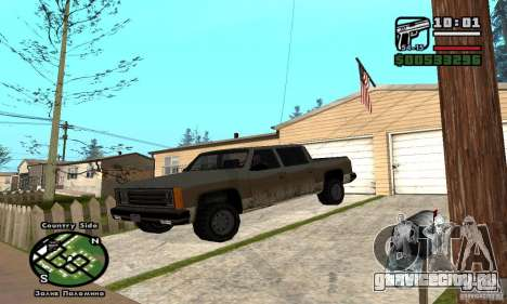 Rancher 4 Doors Pick-Up для GTA San Andreas