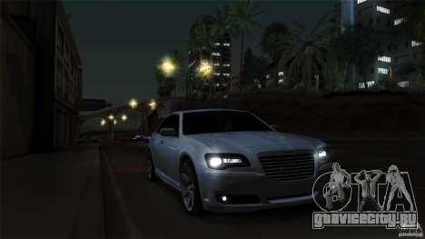 Chrysler 300C V8 Hemi Sedan 2011 для GTA San Andreas вид сверху