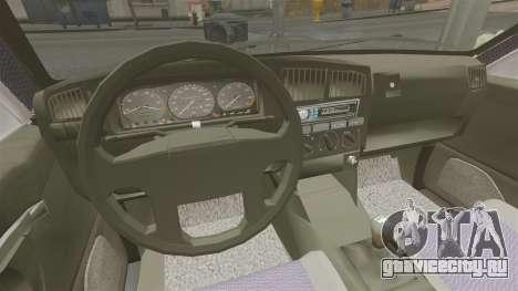 Volkswagen Passat B4 для GTA 4 вид сзади
