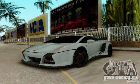 Lamborghini Gallardo для GTA San Andreas