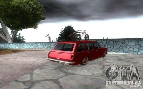 ВАЗ 2102 retro для GTA San Andreas вид сзади слева