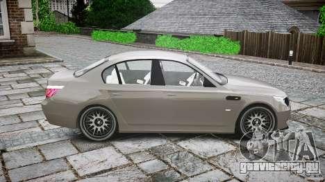 BMW E60 M5 2006 для GTA 4 вид сбоку