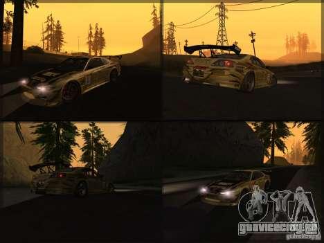 Nissan Silvia S15: Kei Office D1GP для GTA San Andreas вид справа