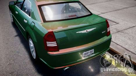 Chrysler 300C SRT8 Tuning для GTA 4 двигатель