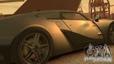 Marussia B2 2012 для GTA 4 вид слева