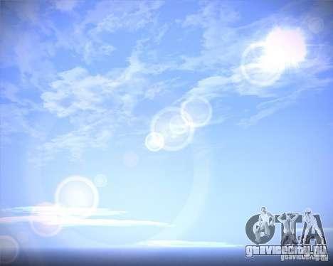 Real Clouds HD для GTA San Andreas второй скриншот