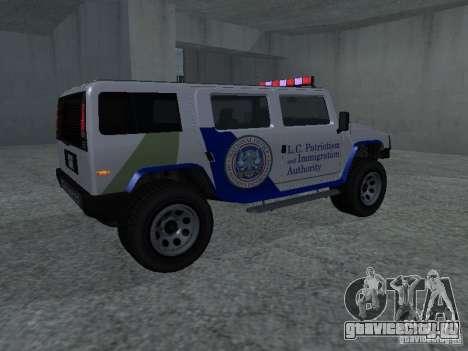 NOOSE Patriot из GTA 4 для GTA San Andreas
