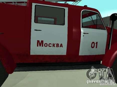 ГАЗ 51 АЦП 20 для GTA San Andreas вид сзади
