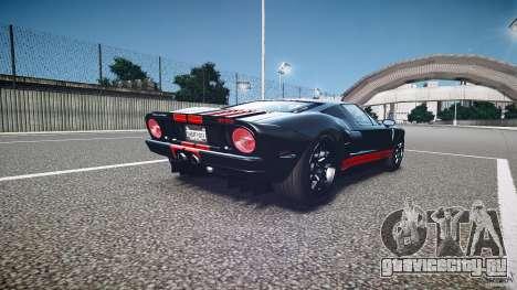 Ford GT1000 2006 Hennessey [EPM] STREET BURNING для GTA 4 вид сбоку