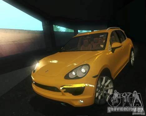 Porsche Cayenne 958 2010 V1.0 для GTA San Andreas вид сбоку