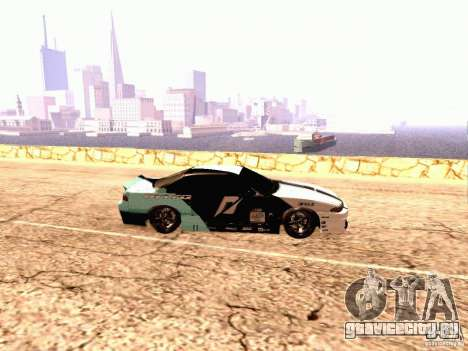 Nissan Silvia S14 Matt Powers 2012 для GTA San Andreas вид слева