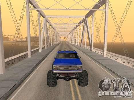 Внедорожная Трасса V 2.0 для GTA San Andreas шестой скриншот