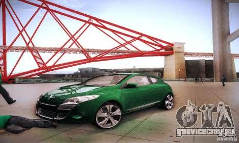Renault Megane Coupe для GTA San Andreas вид сбоку