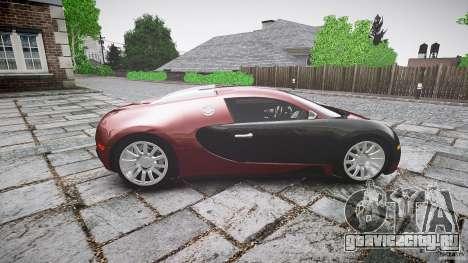 Bugatti Veyron 16.4 v3.0 2005 [EPM] Machiavelli для GTA 4 вид изнутри
