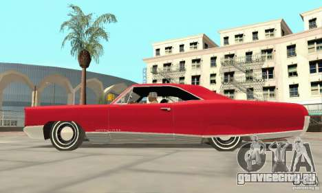Pontiac Bonneville 1966 для GTA San Andreas вид справа