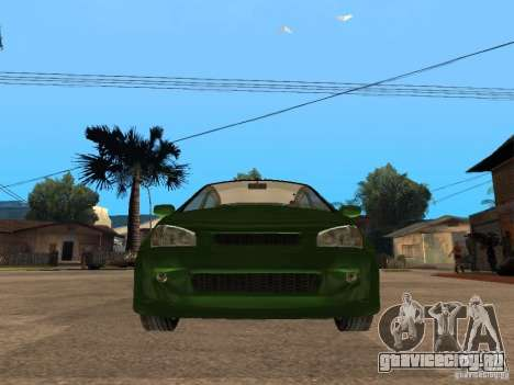Lada Kalina Sport Tuning для GTA San Andreas вид справа