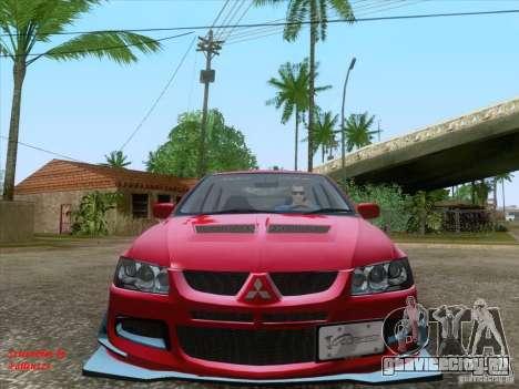 Mitsubishi Lancer Evolution VIII Varis для GTA San Andreas