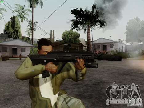 AUG-A3 Special Ops Style для GTA San Andreas пятый скриншот