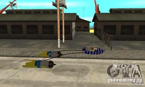 Star Wars Racer для GTA San Andreas вид слева