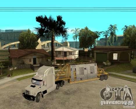 Патч прицепов v_1 для GTA San Andreas вид слева.