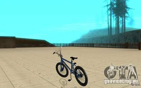 X-game BMX для GTA San Andreas вид сзади слева