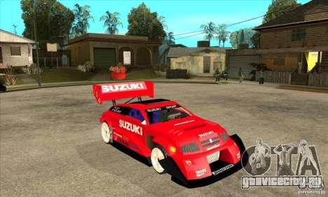 Suzuki Escudo Pikes Peak V2.0 для GTA San Andreas вид сзади