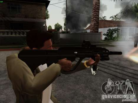 AUG-A3 Special Ops Style для GTA San Andreas второй скриншот