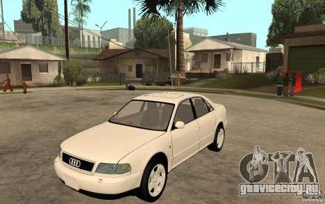 Audi A8 4.8L 2000 для GTA San Andreas