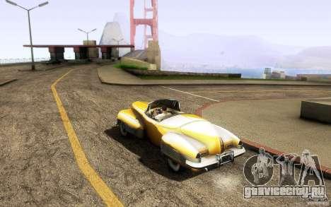 Buick Y-Job 1938 для GTA San Andreas вид справа