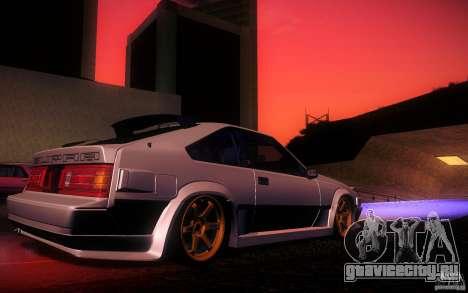 Toyota Supra Drift для GTA San Andreas салон
