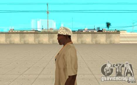 Бандана white для GTA San Andreas второй скриншот