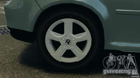 Volkswagen Golf Sportline 2011 для GTA 4 вид снизу