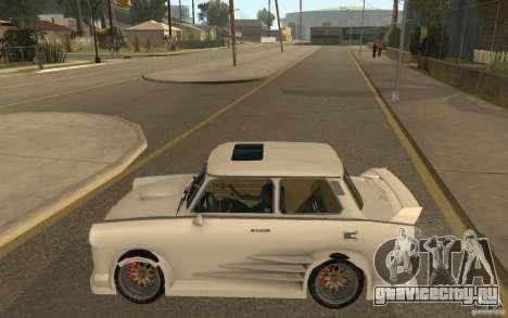 Trabant 601S Tuning для GTA San Andreas вид слева