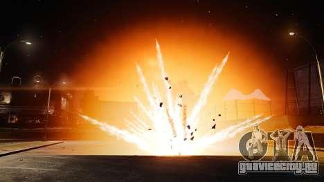Большие и реалистичные взрывы для GTA 4 третий скриншот