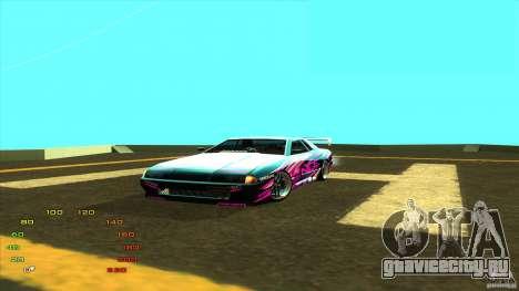 Pack vinyl для Elegy для GTA San Andreas четвёртый скриншот