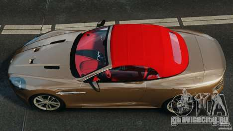 Aston Martin DBS Volante [Final] для GTA 4 вид справа