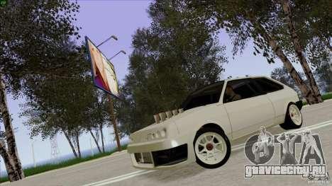 ВАЗ 2108 Sport для GTA San Andreas вид сзади