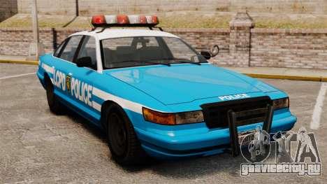 Vapid Police Cruiser ELS для GTA 4
