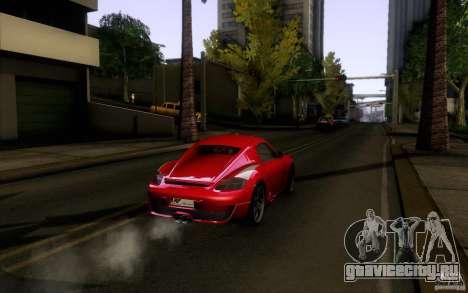 Ruf RK Coupe V1.0 2006 для GTA San Andreas вид сзади