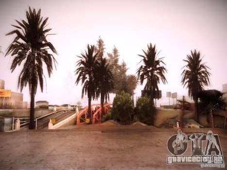New trees HD для GTA San Andreas пятый скриншот