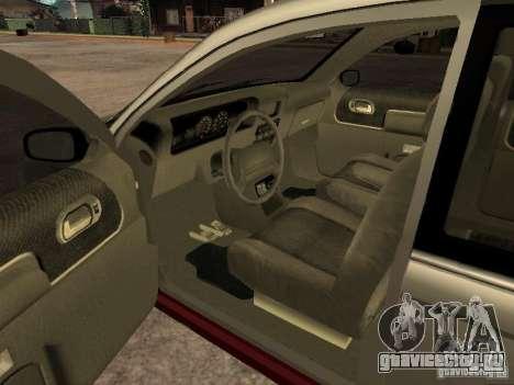 HD Blista для GTA San Andreas вид сзади слева