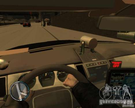 Ford Taurus Police Interceptor Stealth для GTA 4 вид справа