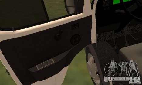 ГАЗель 32213 Новосибирская Маршрутка для GTA San Andreas вид сбоку
