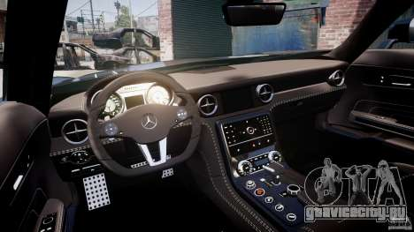 Mercedes-Benz SLS AMG 2010 [EPM] для GTA 4 вид сзади
