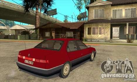 Alfa Romeo 164 для GTA San Andreas вид справа