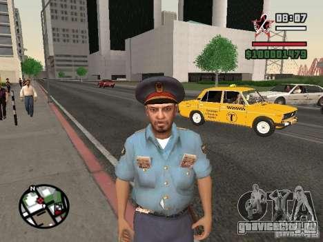 Менты для GTA San Andreas третий скриншот