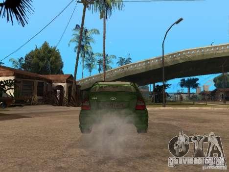 Lada Kalina Sport Tuning для GTA San Andreas вид сзади слева