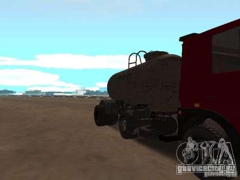 ТТС 26 для GTA San Andreas вид изнутри