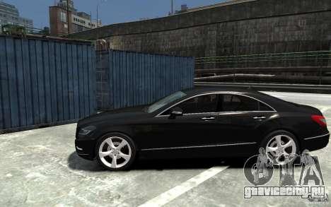 Mercedes-Benz CLS 350 для GTA 4 вид слева